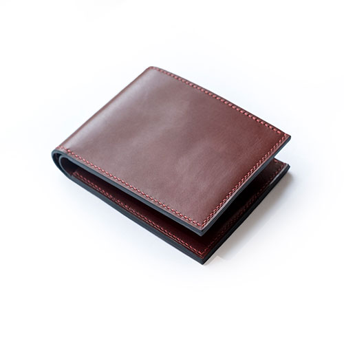 mens leather bifold wallets usa