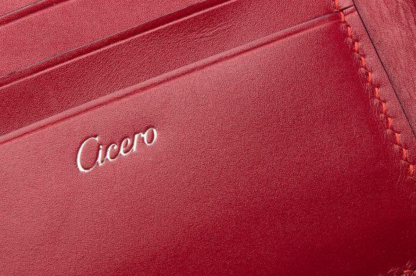Branding a Handmade Leather Wallet
