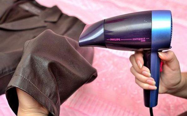 Use a hair dryer