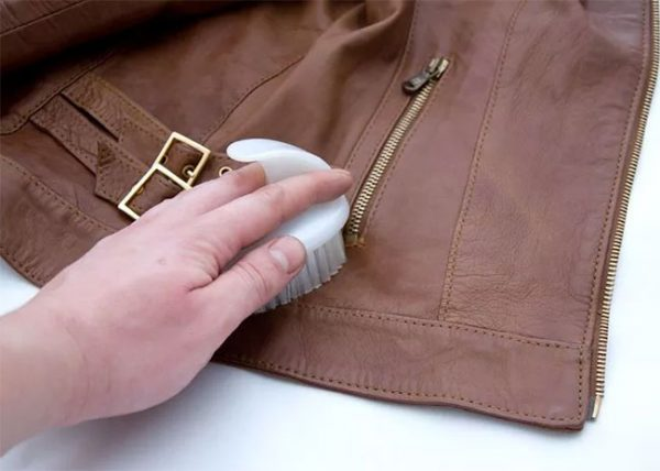 How to soften old leather jacket
