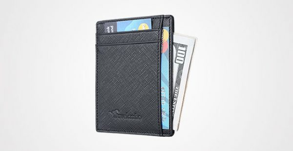Travelambo Slim Wallet Genuine Leather
