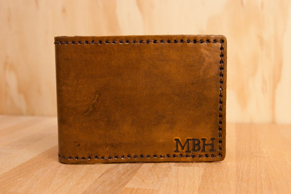 Monogram Wallet from moxieandoliver