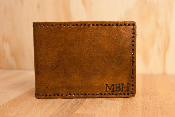 Monogram Wallet from moxieandoliver