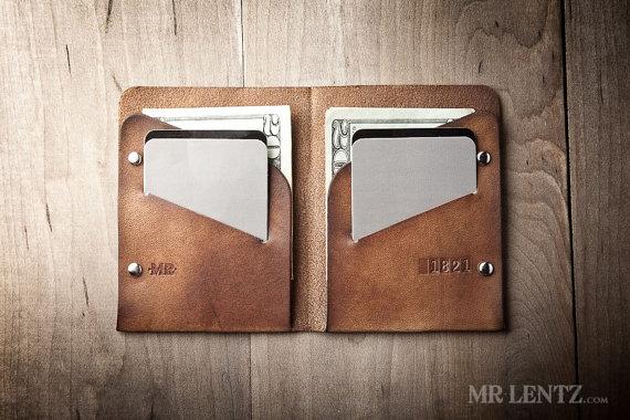 Thin Leather Wallet from MrLentz