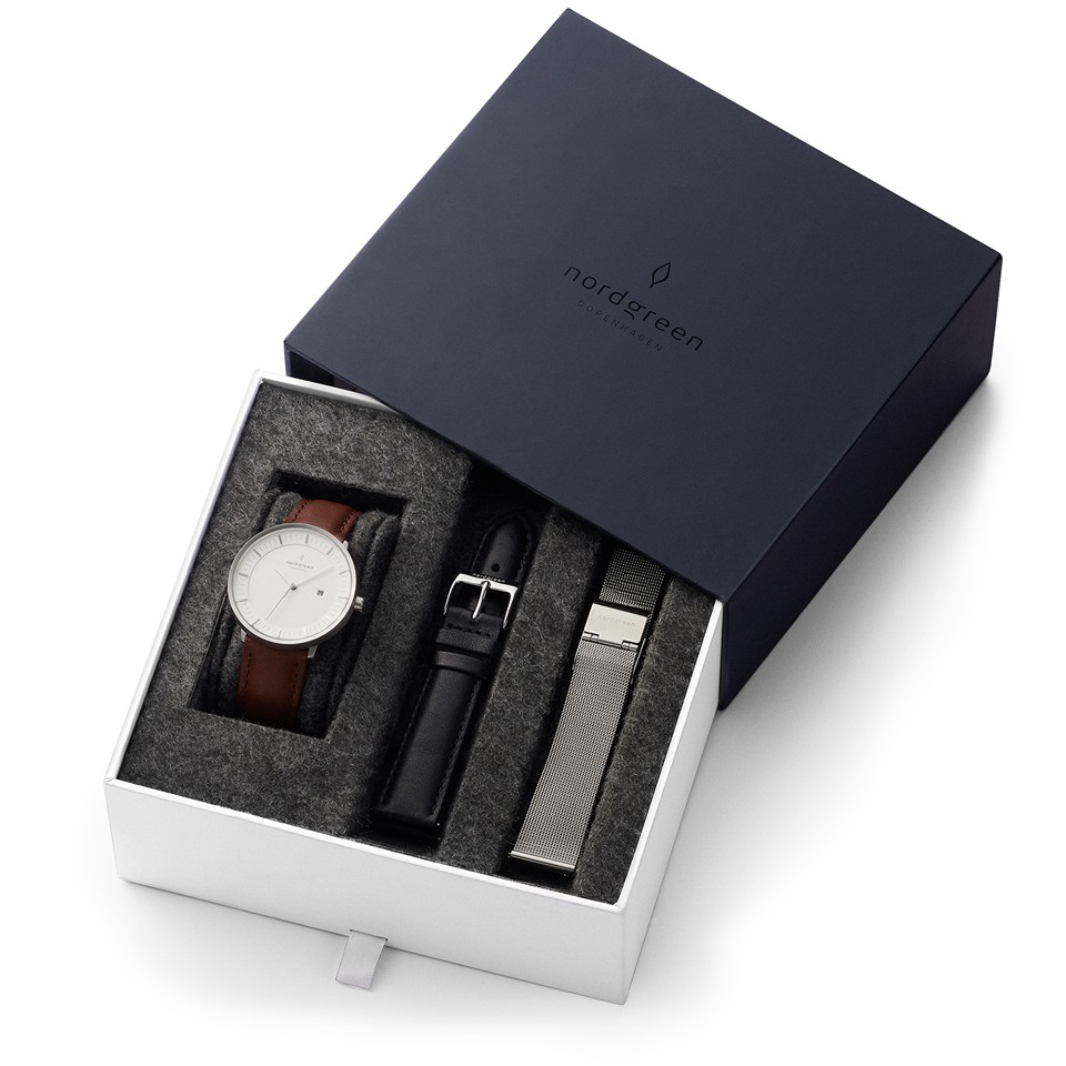 A minimalist watch
