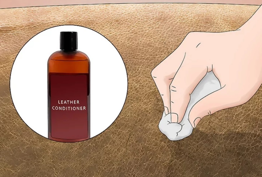 Apply additional conditioner to smooth out cracked parts