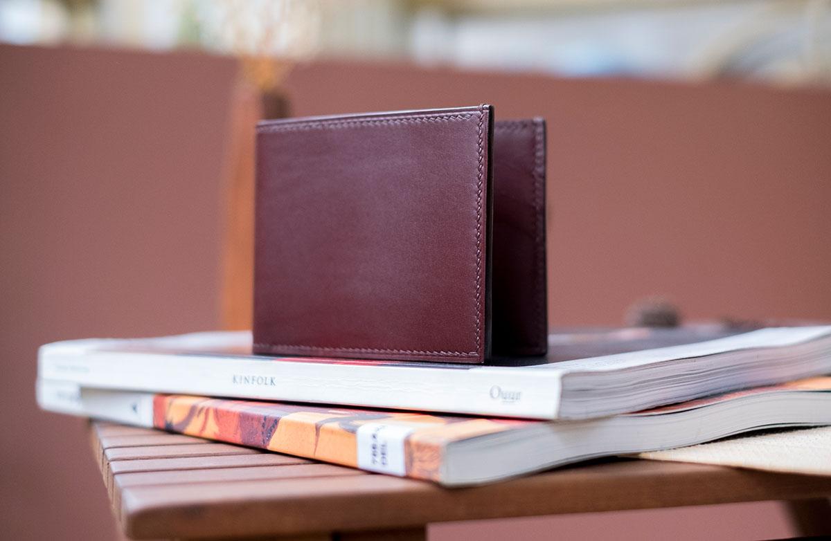 Cicero Leather Men Money Clip Wallet