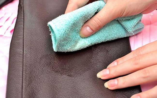 how to soften leather use a hair dryer