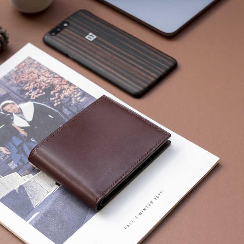 handmade leather wallet usa