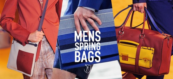 Handbags - accessories that men can't miss out