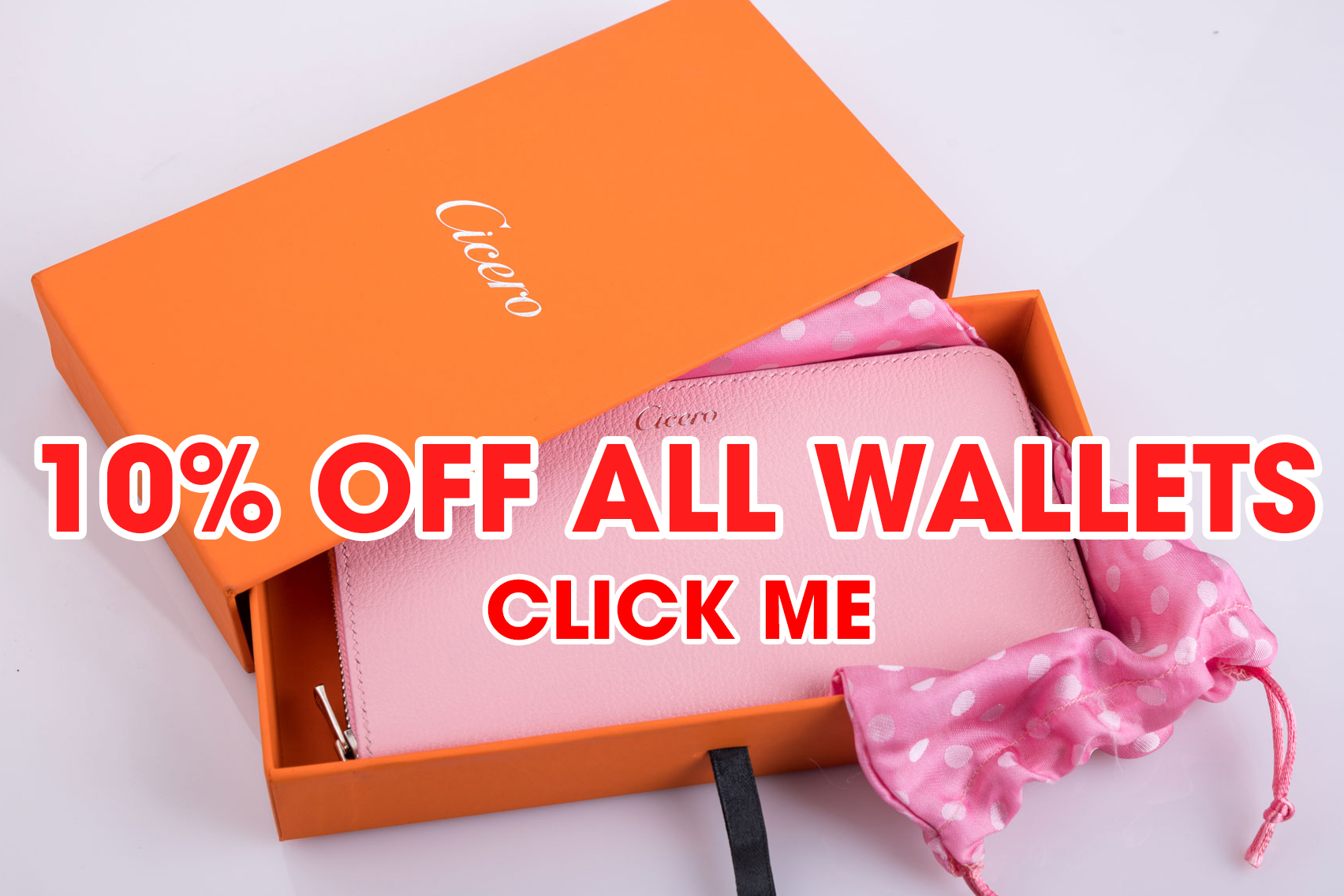 10% OFF ALL WALLETS