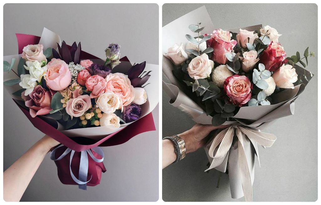 Bouquet that she likes