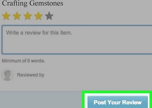 """Click """"Post Your Review."""""""