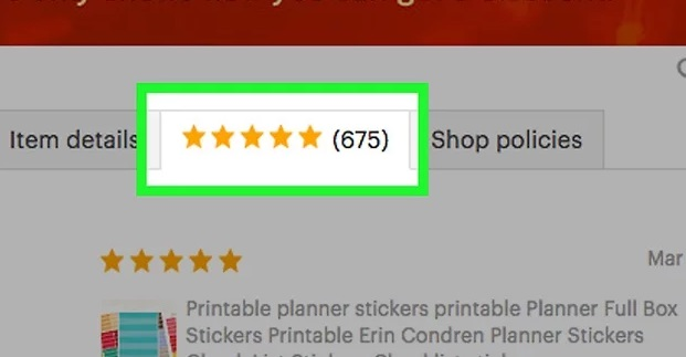 Repeat for each item. Etsy allows you to leave individual reviews for different items. You can even leave multiple reviews for each!
